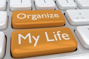Photo of Organize My Life words