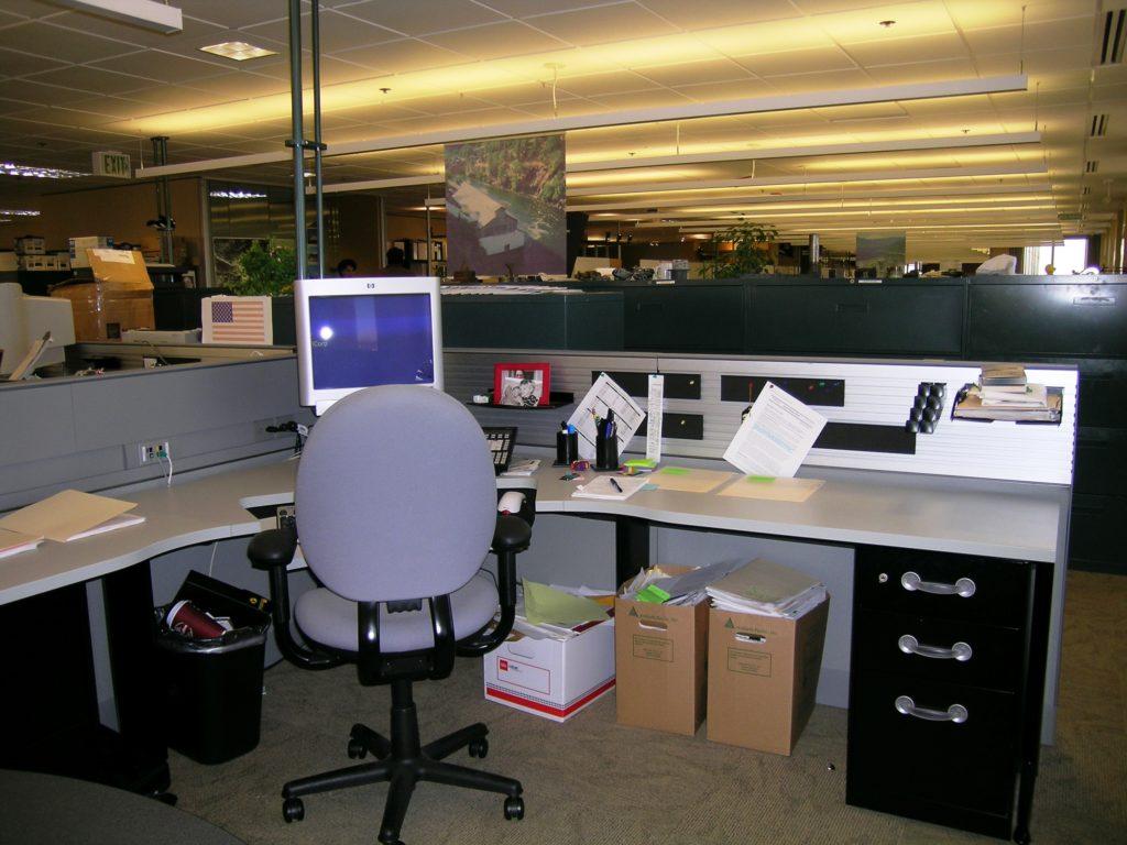 Photo Organized Corporate Office Desk