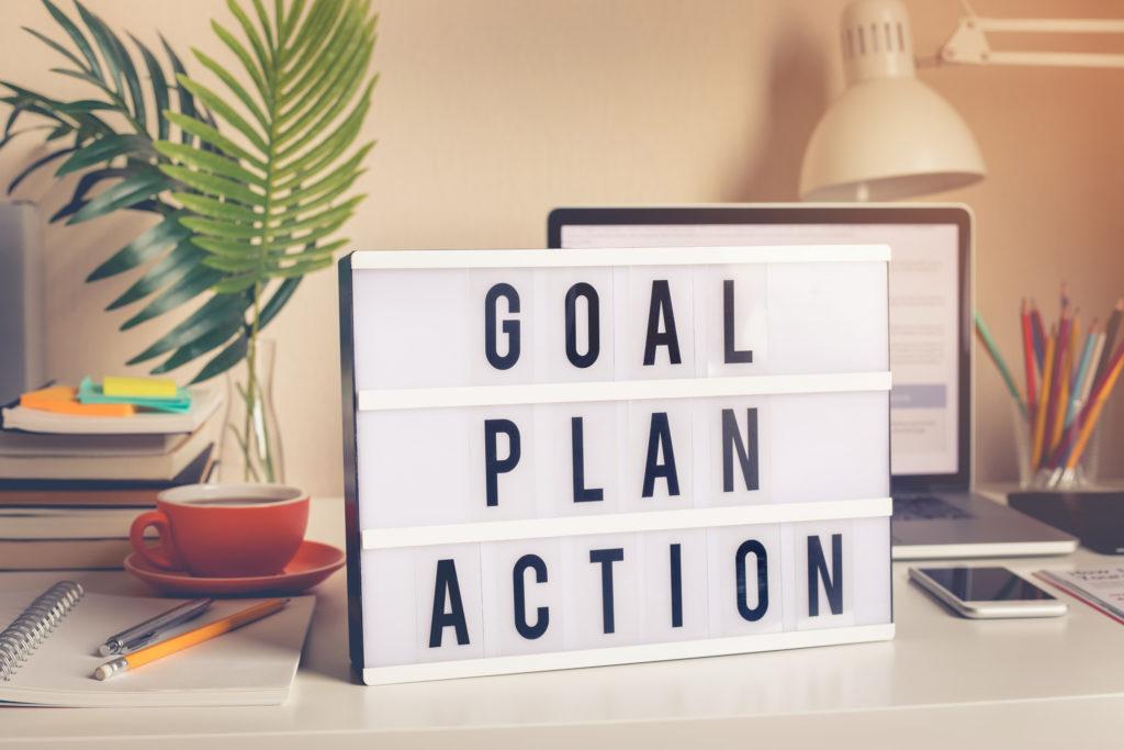 Photo Goal Plan Action