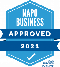 photo NAPO Business Stamp of approval