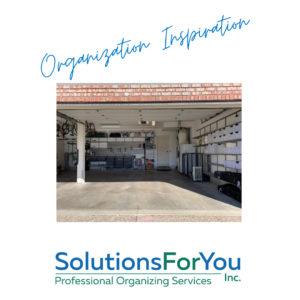 Photo Organization Inspiration for Garage